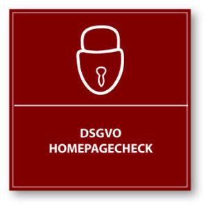 DSGVO Homepagecheck