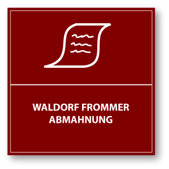 Waldorf Frommer Abmahnung